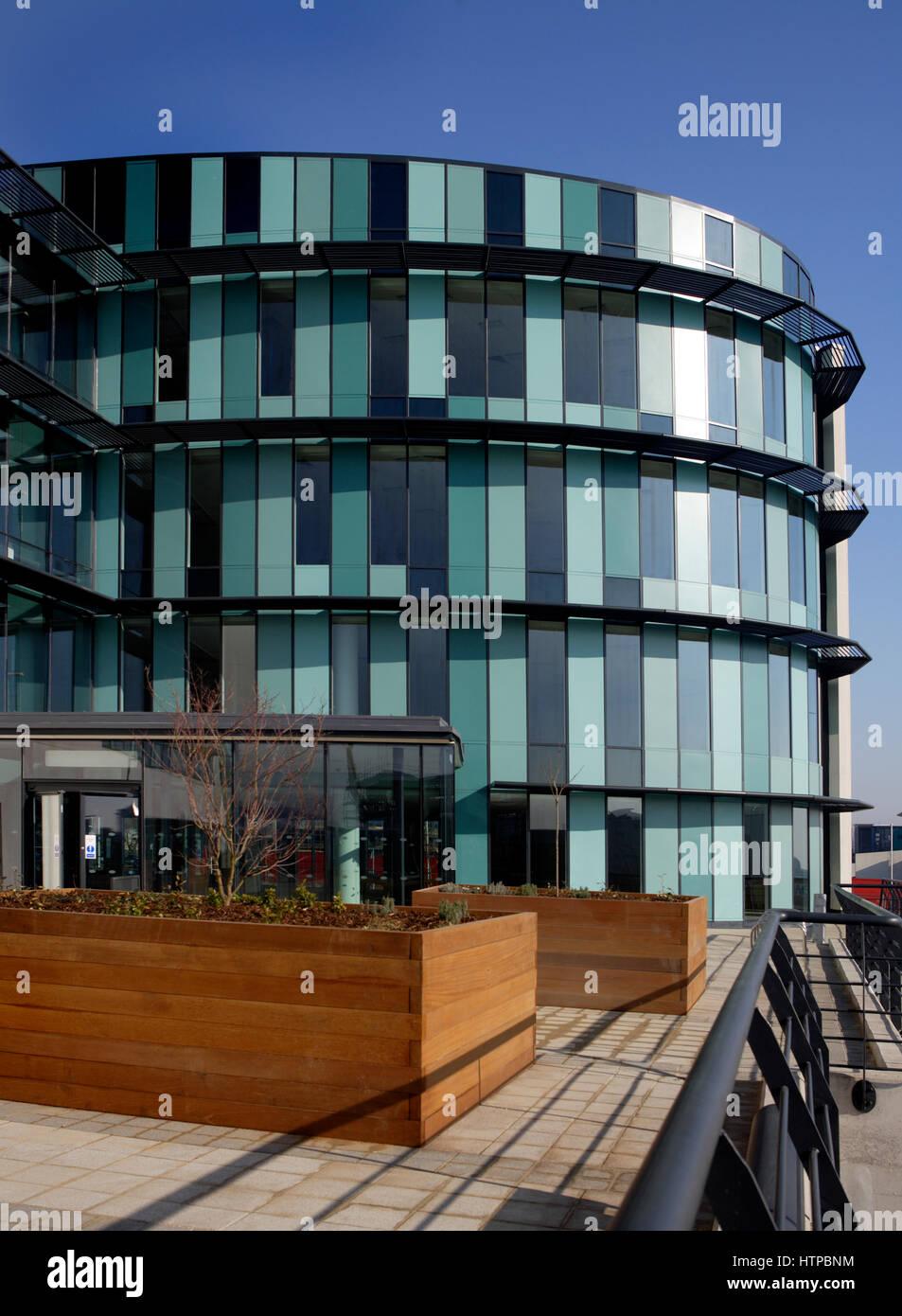 Ellipse Building à Swansea, West Glamorgan, Pays de Galles, Royaume-Uni Photo Stock