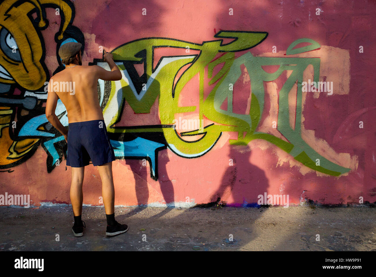 mur de Berlin Photo Stock