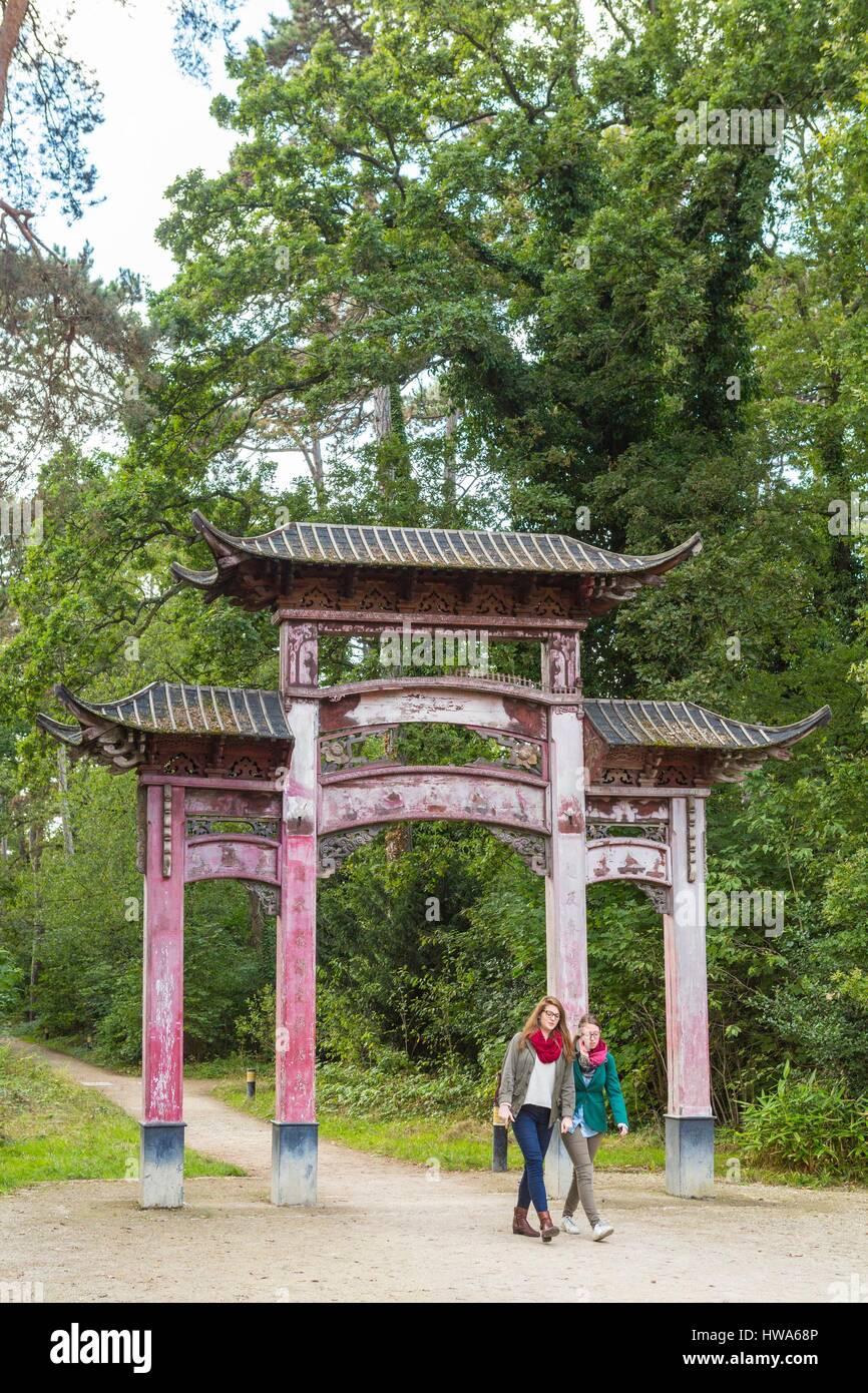France, Paris, jardin d\'Agronomie tropicale dans le Bois de ...