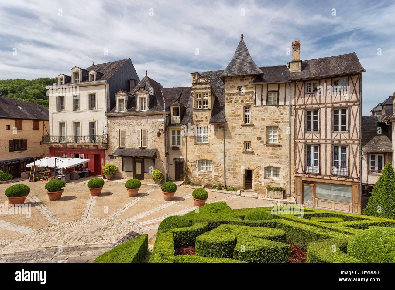 France Dordogne Périgord Noir Terrasson Lavilledieu
