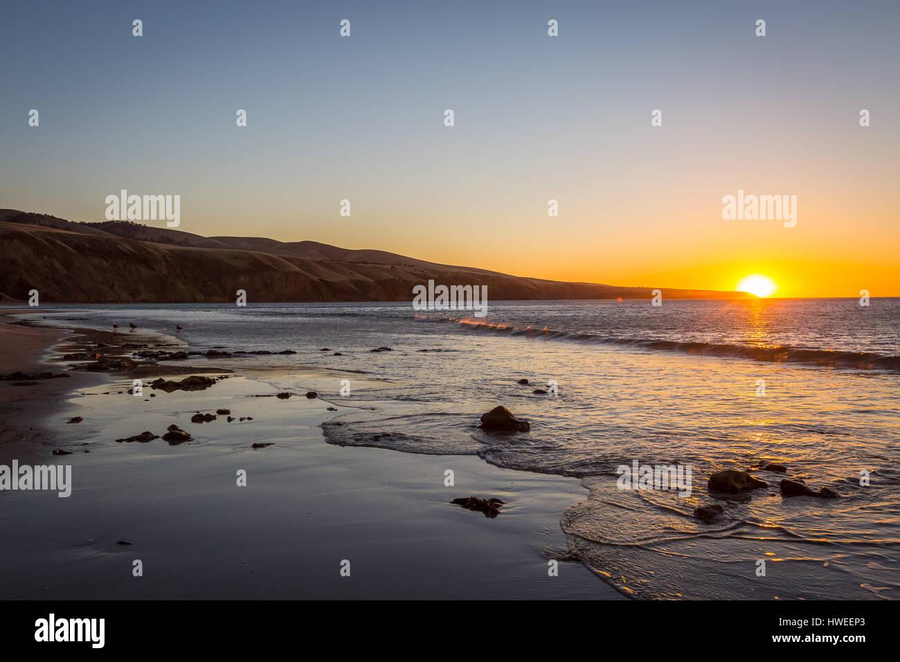 Sellicks Beach, Australie du Sud Photo Stock
