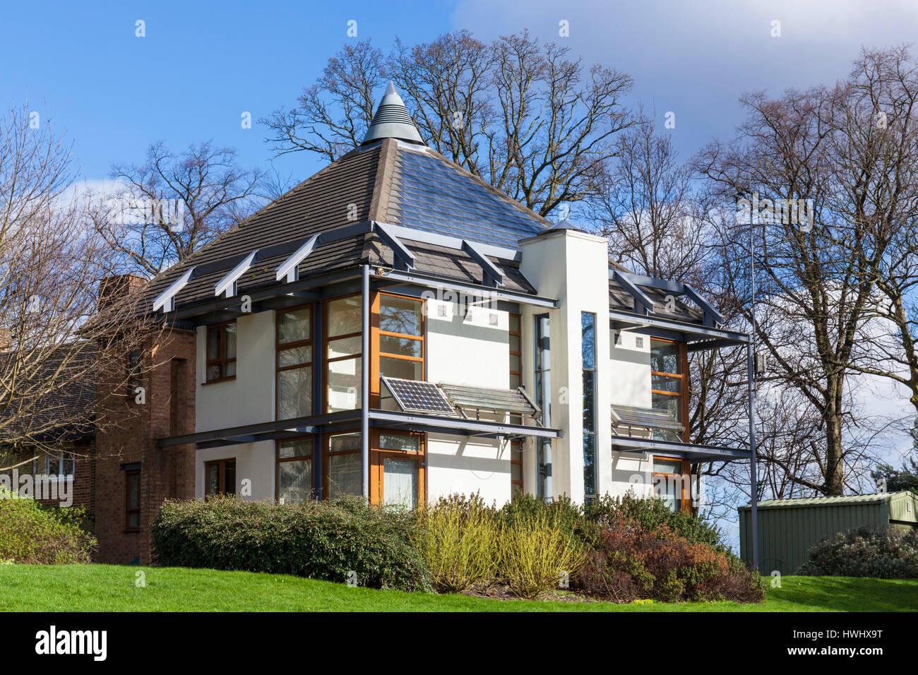 l'université de nottingham, l'éco-maison, l'architecture moderne