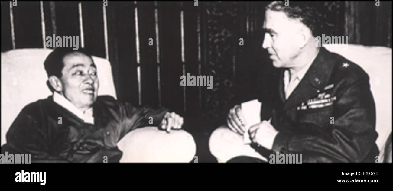 Kim Gyu sik en 1947 Photo Stock