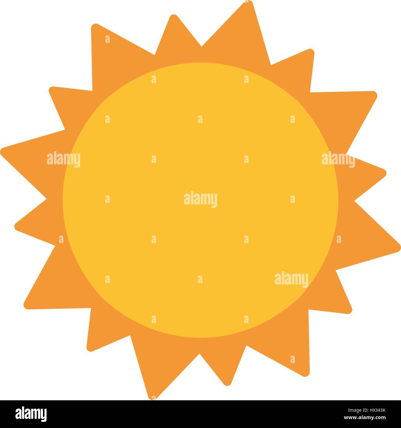 L'astronomie du système solaire soleil Photo Stock
