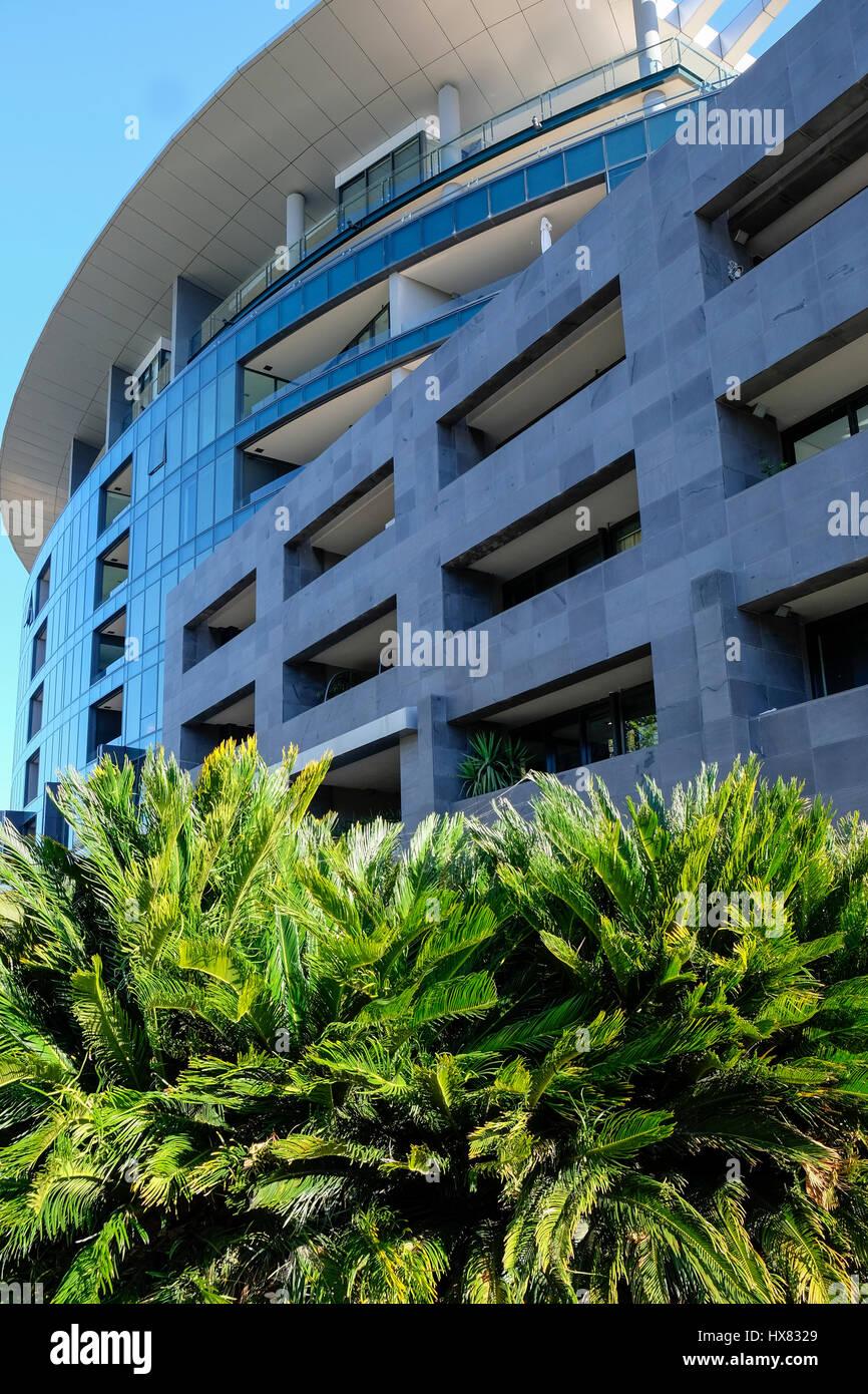 Apartment Building, St Kilda Rd, Melbourne, Victoria, Australie Banque D'Images