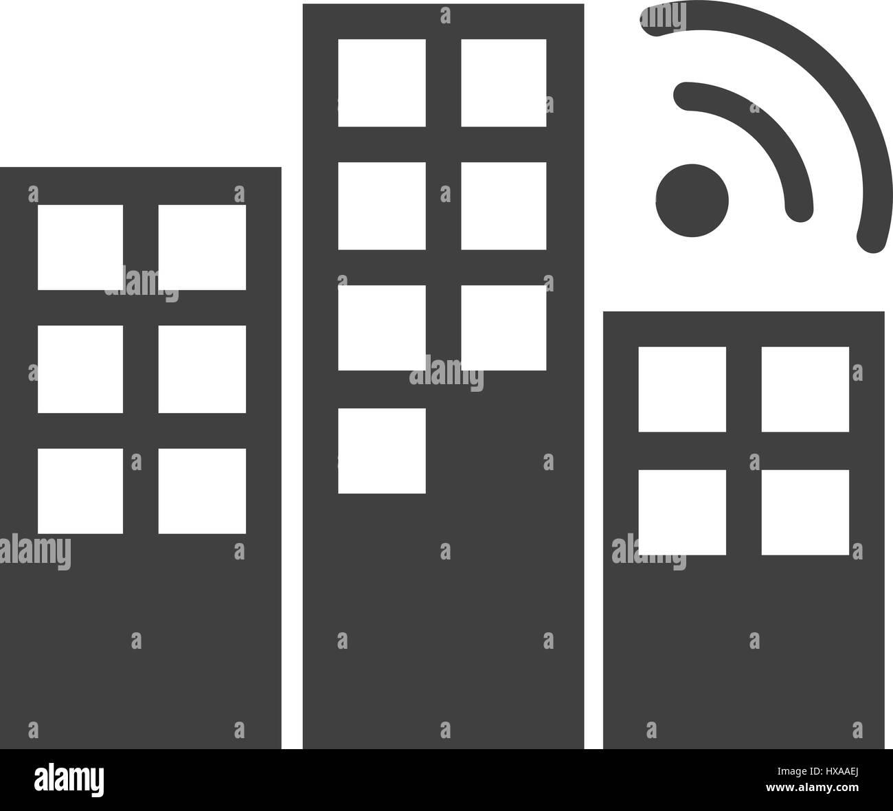 Connexion wi-fi Photo Stock