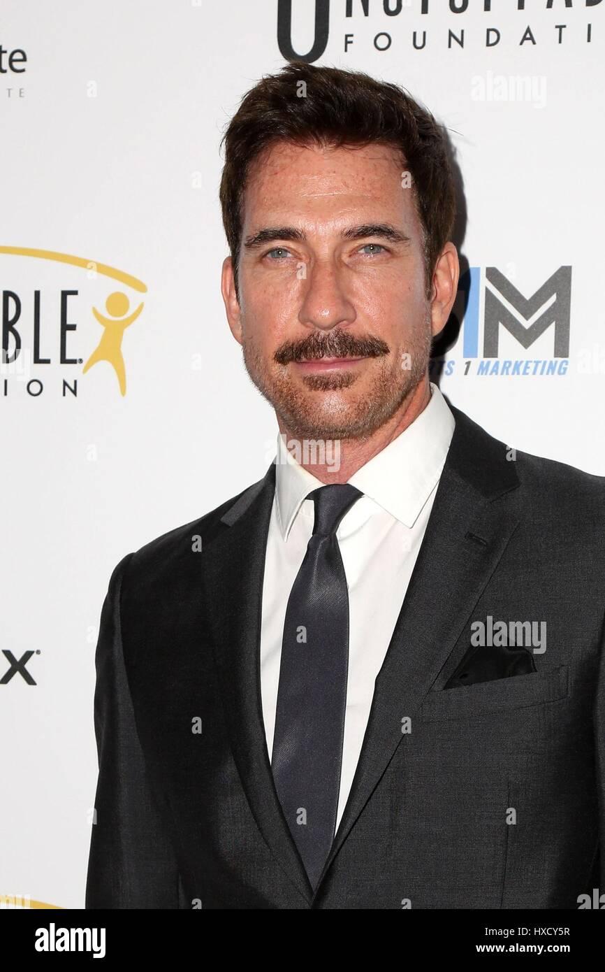 Los Angeles, CA. Mar 25, 2017. Dylan McDermott aux arrivées de Gala de la Fondation imparable, Beverly Hilton Photo Stock
