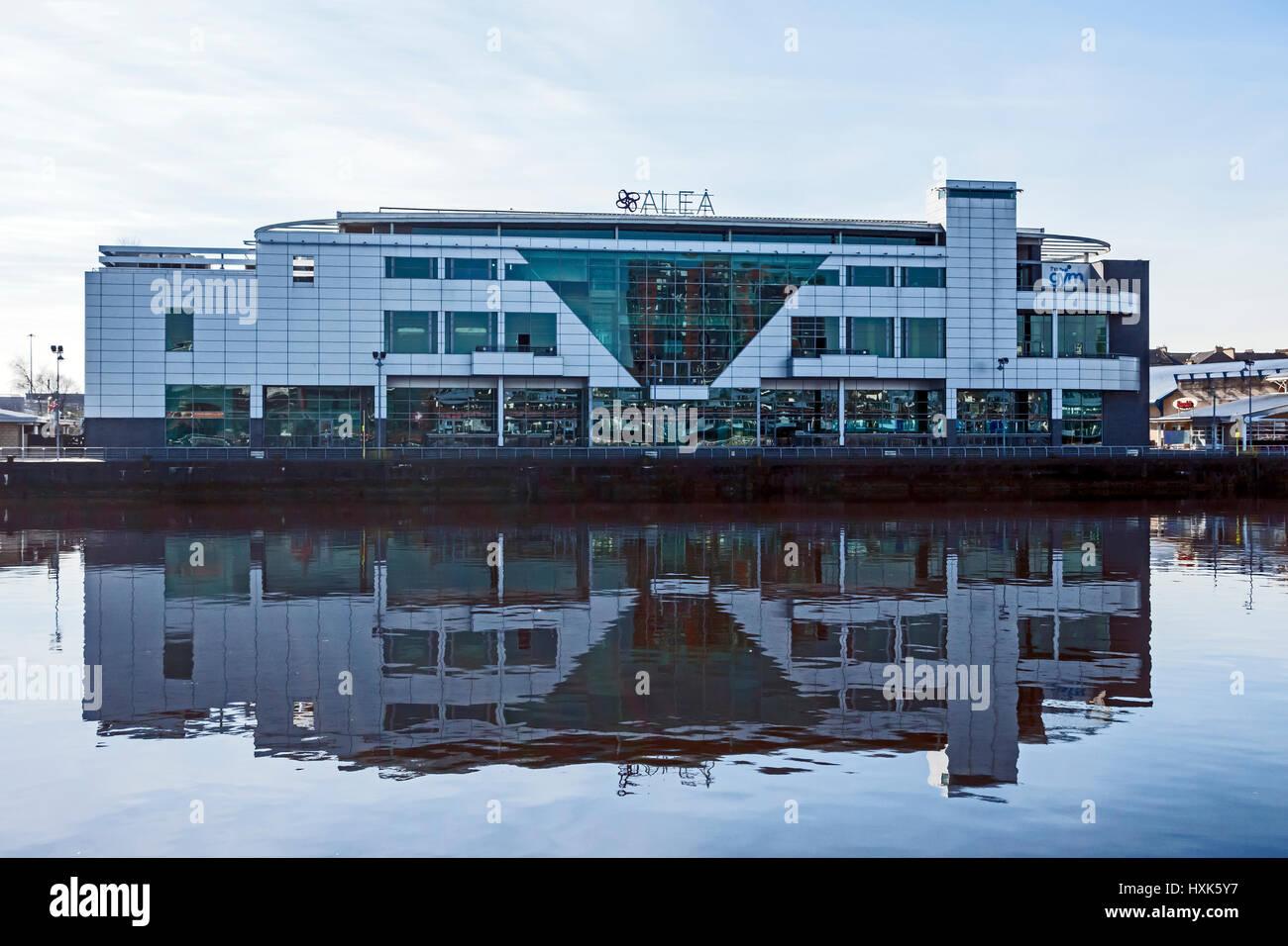 ALEA Casino à la rivière Clyde à Glasgow Scotland UK Banque D'Images