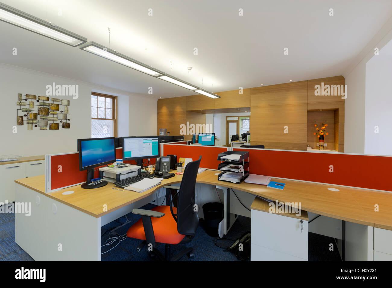 Intérieur d'un bureau moderne Banque D'Images