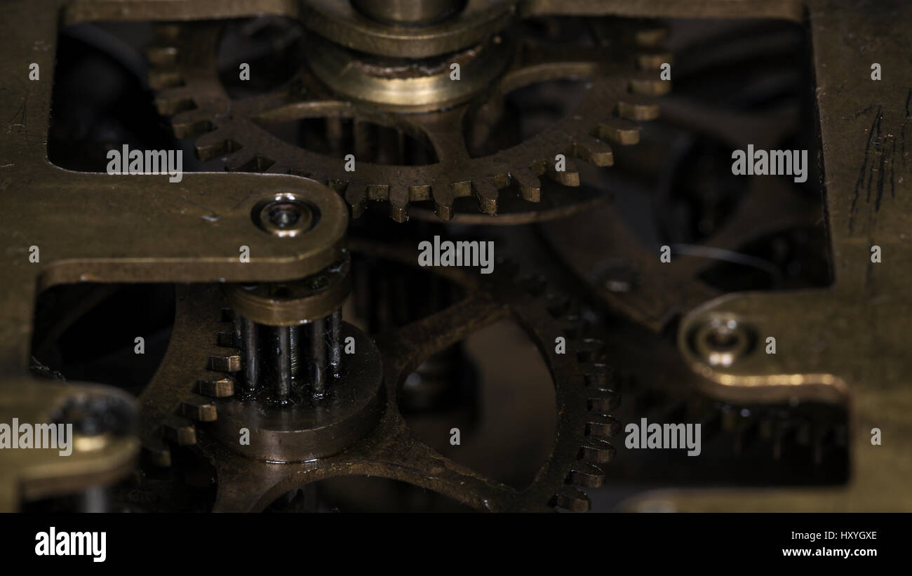 Petites modes machine close up. Macro photographie, petite profondeur de champ Photo Stock
