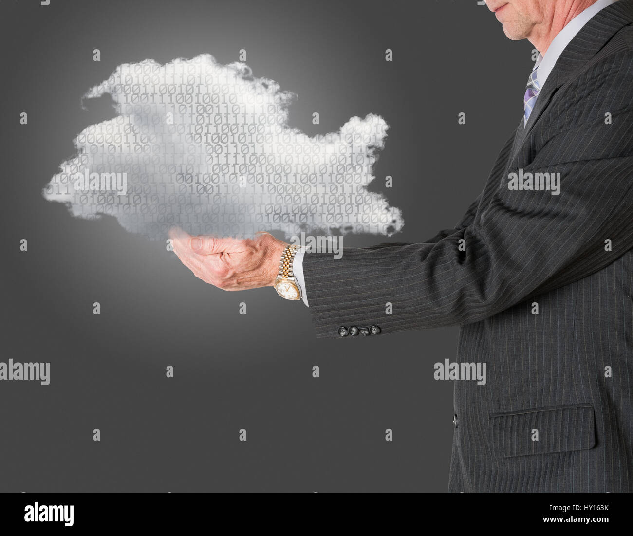 Cloud Computing et cloud storage concept Photo Stock