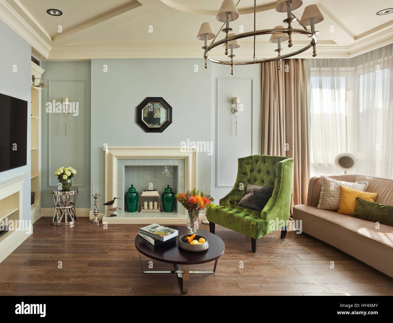 Appartement De Luxe Dans Un Style Classique à Moscou Design D - Chambre design de luxe