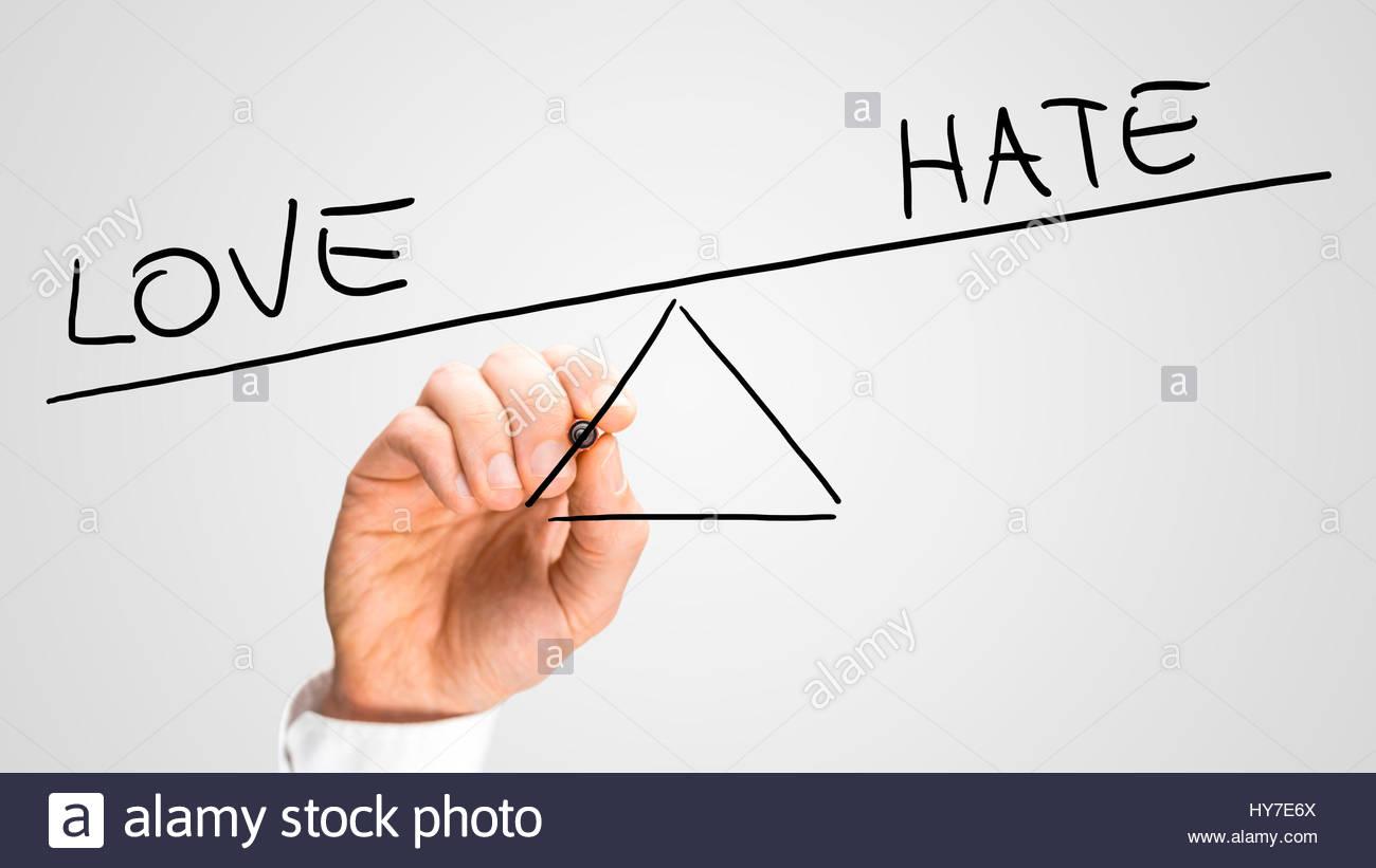 Dessin Balançoire homme d'une balançoire dessin montrant un déséquilibre entre l'amour