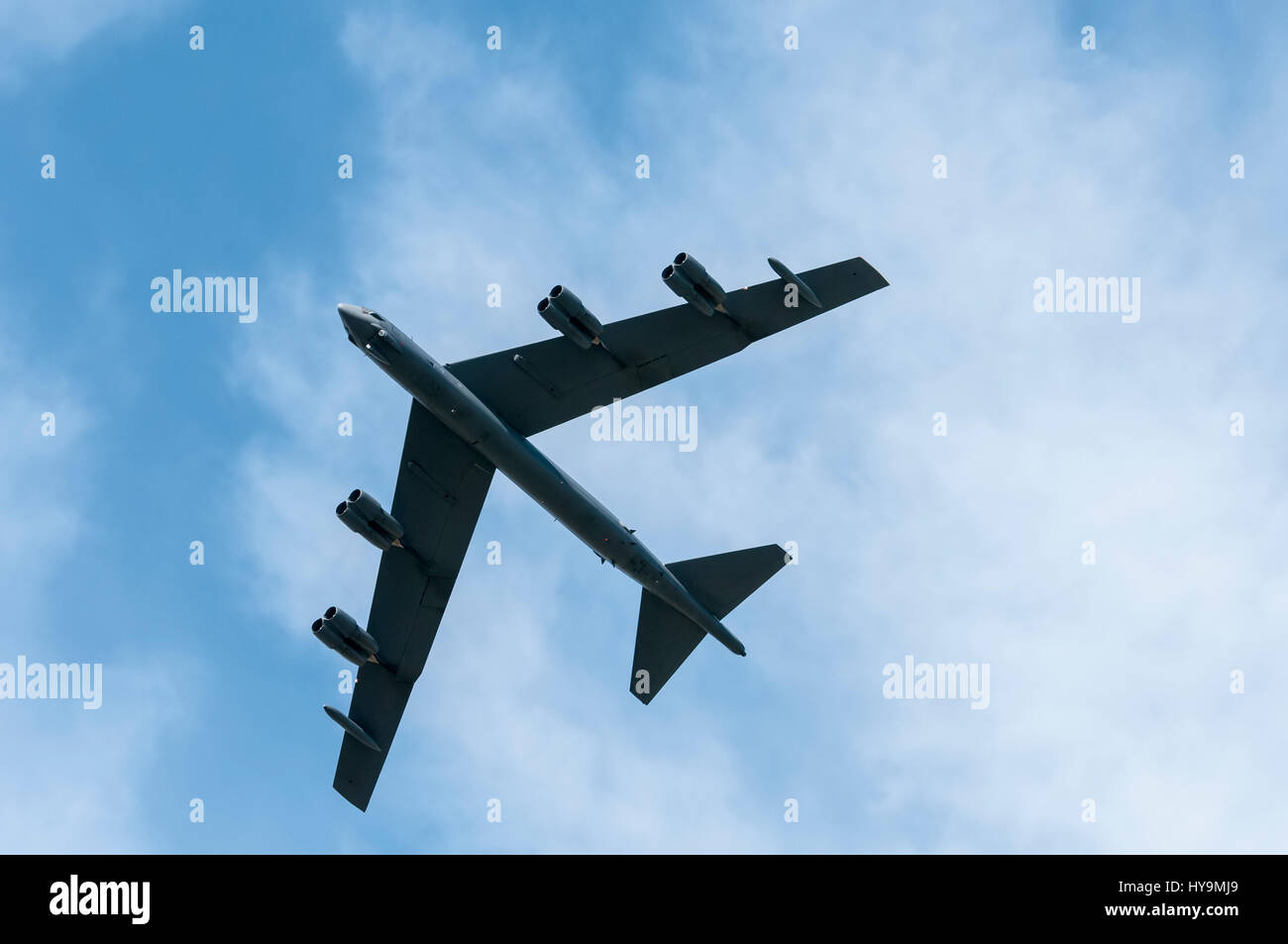 B-52 Stratofortress de l'USAF Banque D'Images