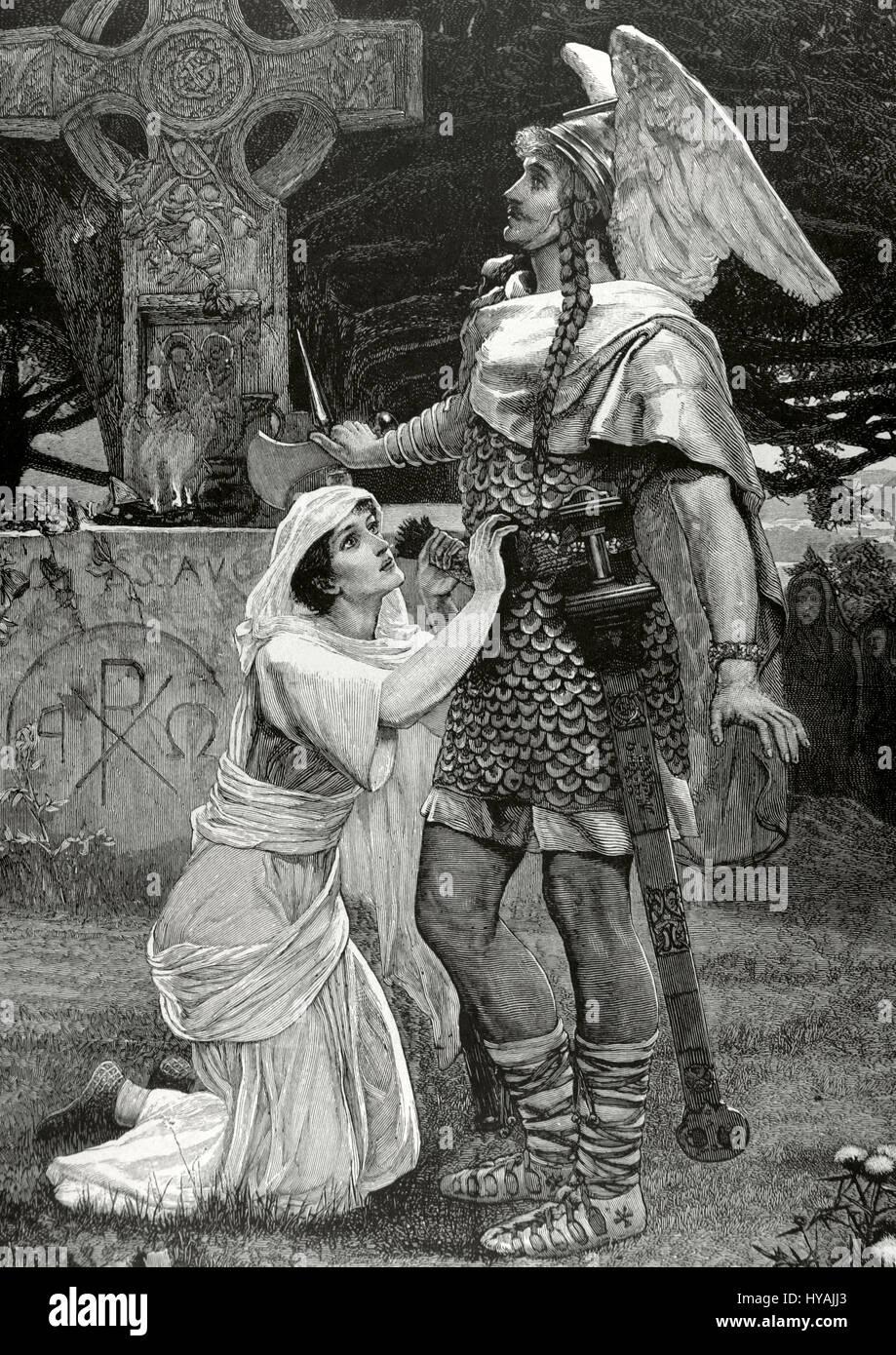 La Legende Arthurienne Sir Galahad Chevalier De La Table Ronde