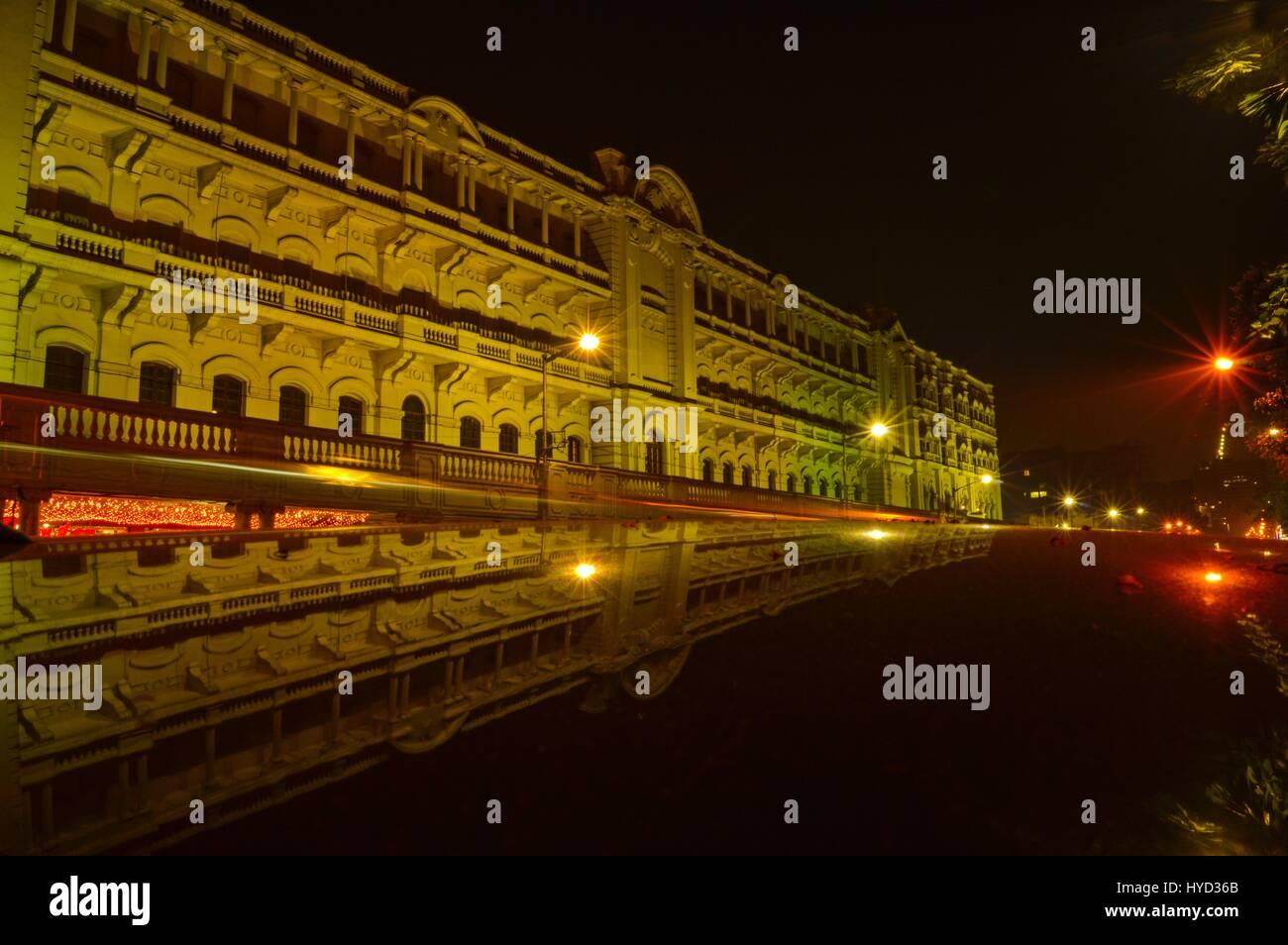 Tranche de l'architecture britannique à Kolkata, Inde Photo Stock