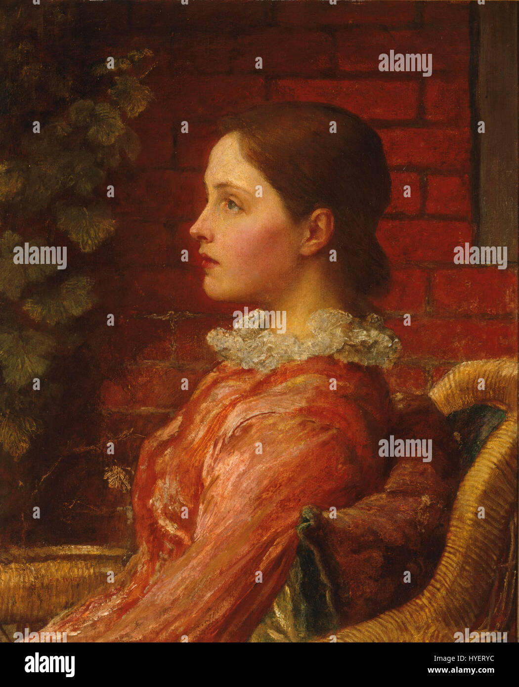 George Watts Alice Google Art Project Banque D'Images