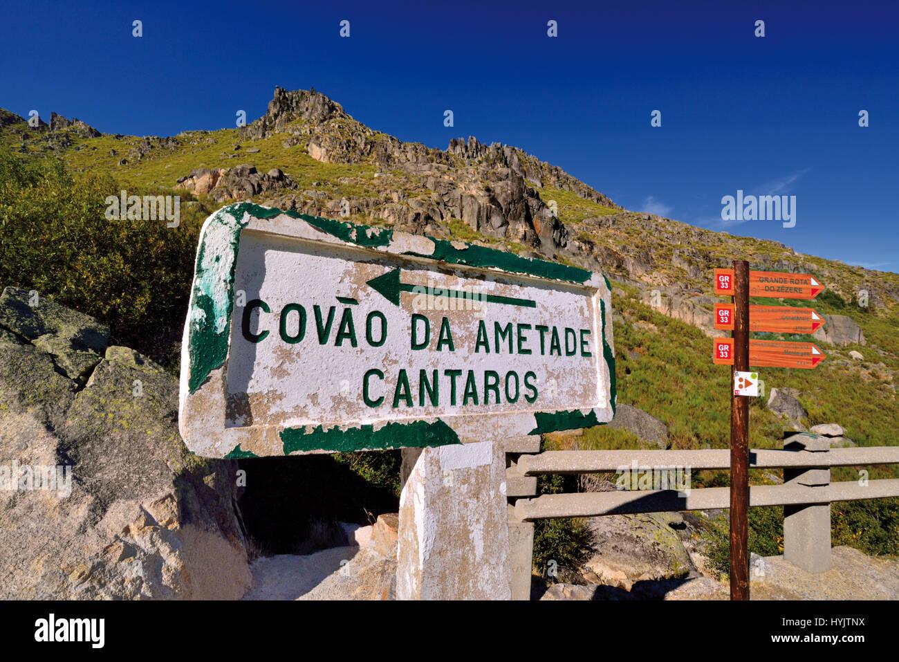 Parc naturel Serra da Estrela, Portugal Photo Stock