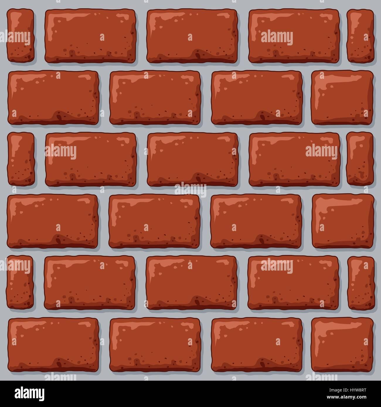 Un Dessin De Fond D Un Mur De Briques Image Vectorielle Stock Alamy