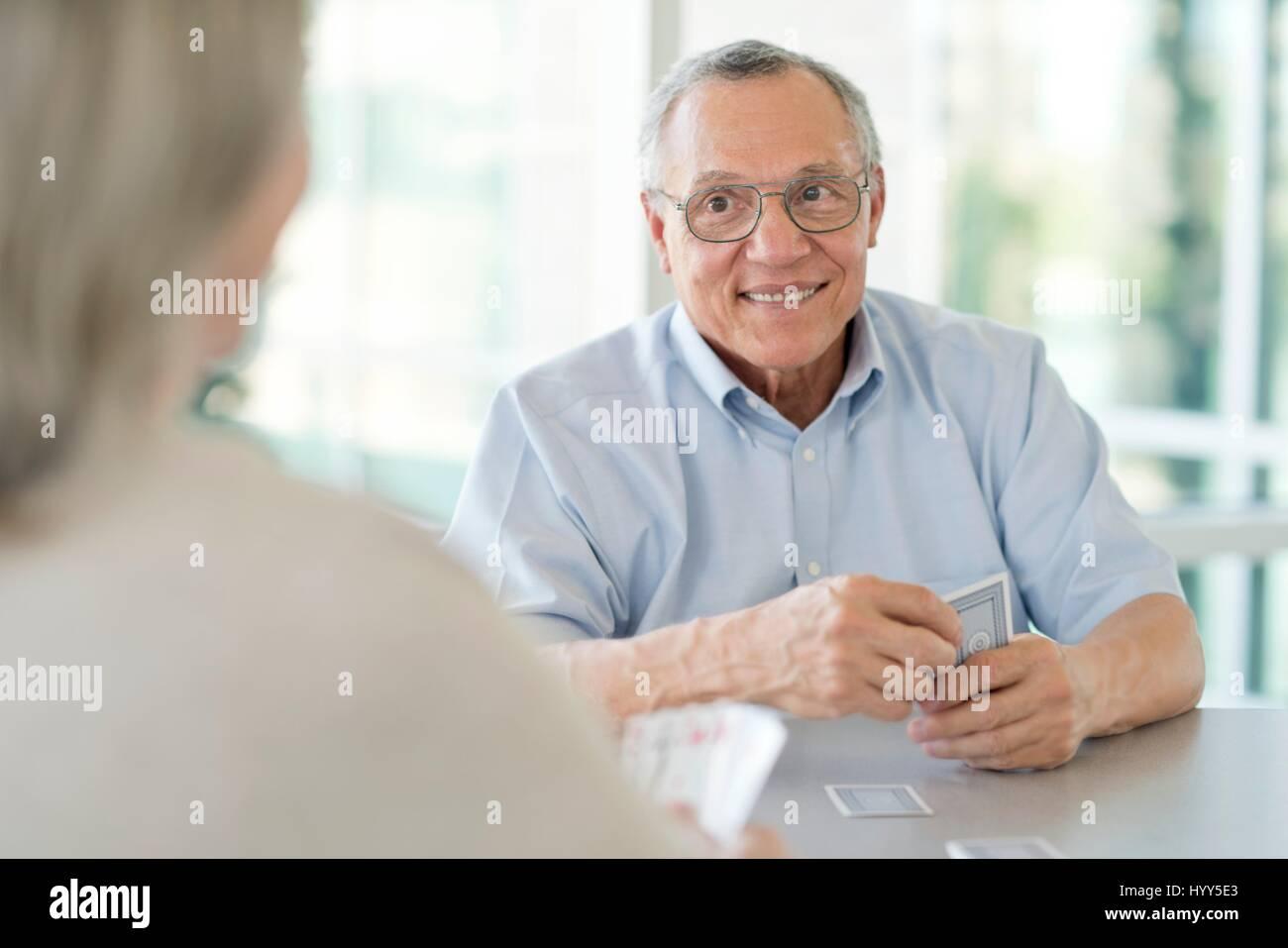 Couple de cartes à jouer. Photo Stock