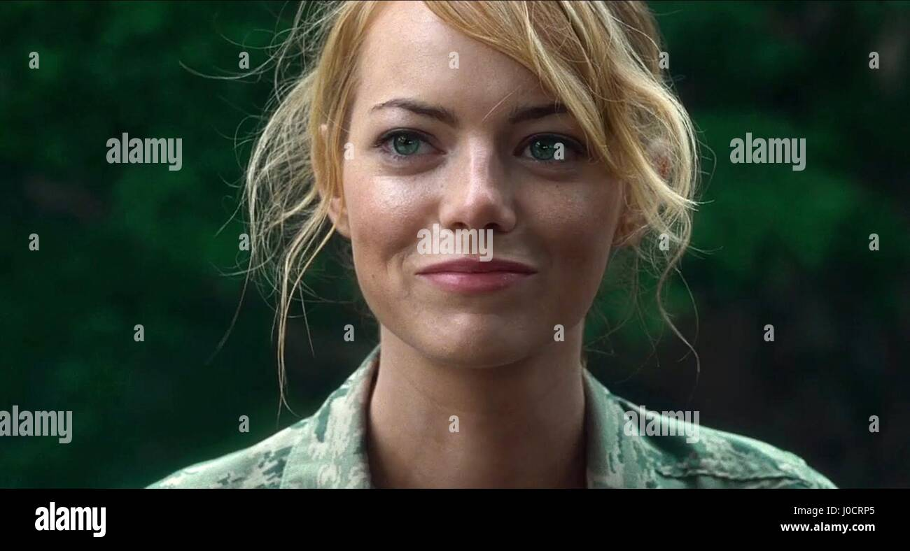 EMMA STONE ALOHA (2015) Photo Stock