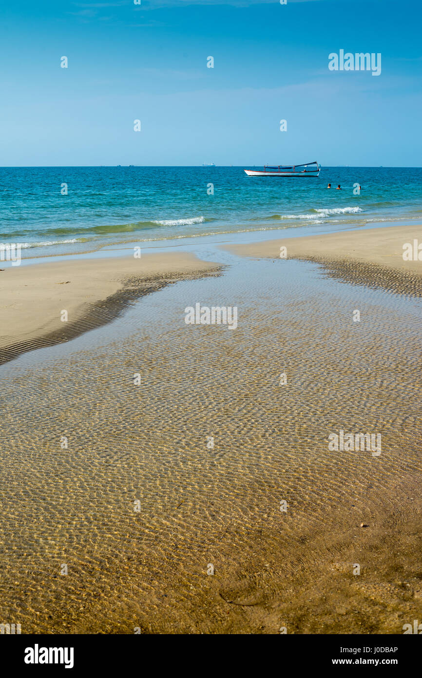 Hawaii Beach dans le Sihanouk , Cambodge, Asie. Photo Stock