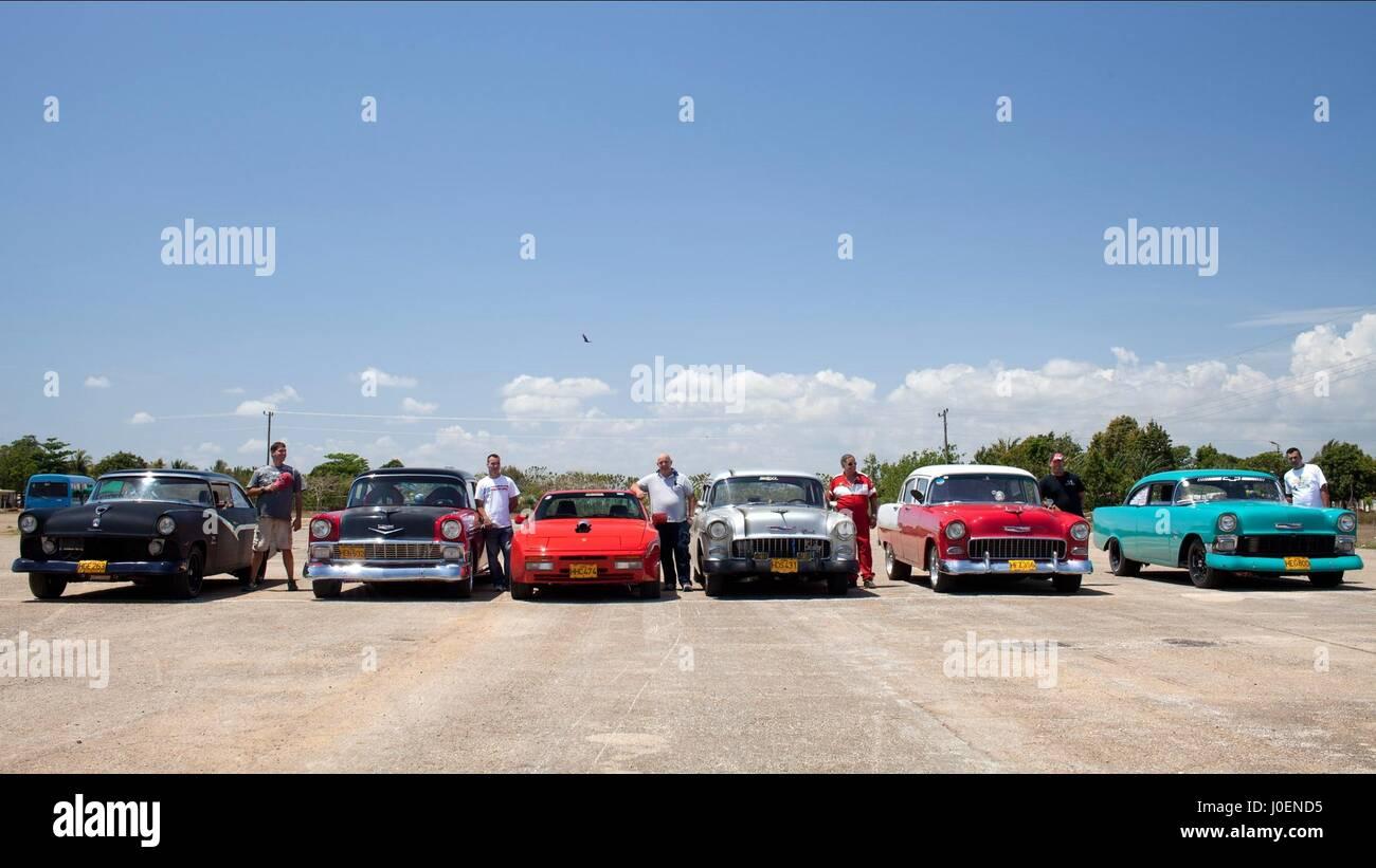 Faites glisser LA HAVANE CUBA RACERS MOTOR CLUB (2015) Photo Stock