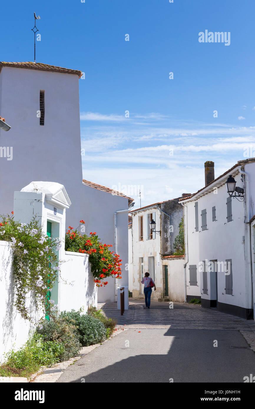 portrait scène de rue typique de l'architecture traditionnelle des