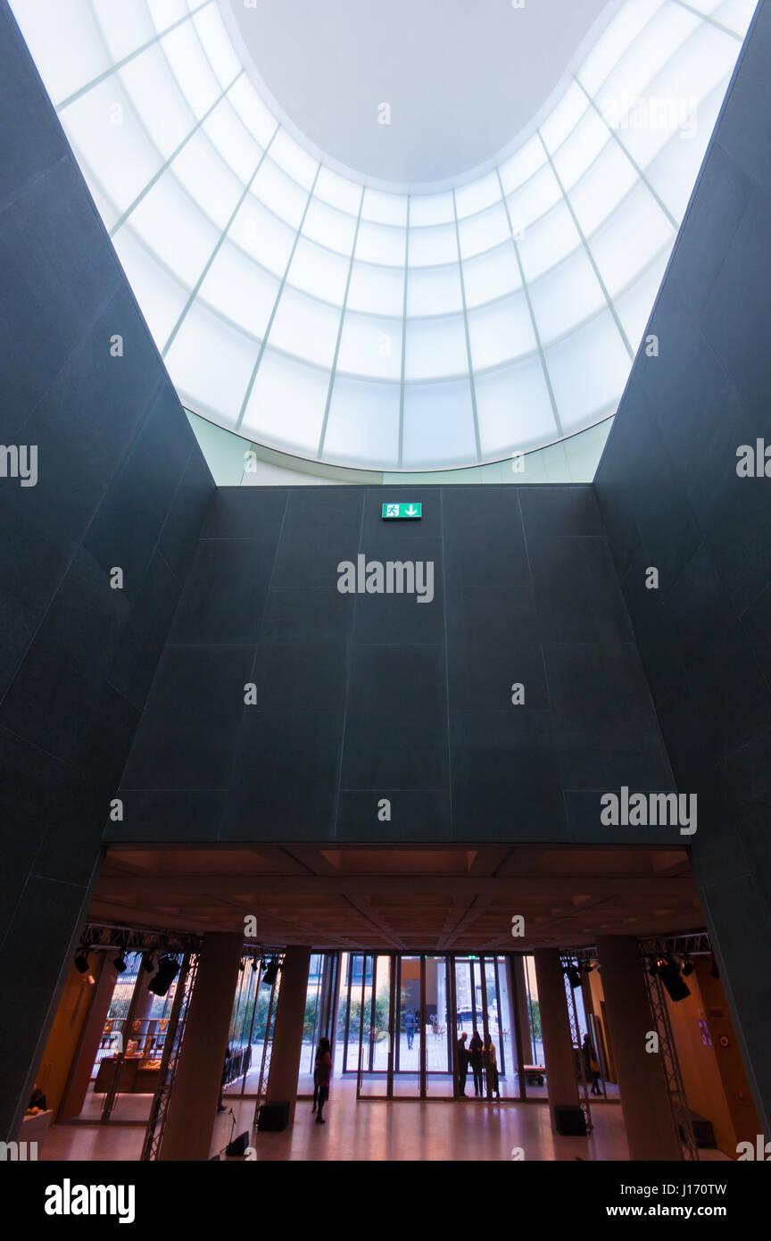 MUDEC - Musée des Cultures à Milan, conçu par David Chipperfield Architects - entrée principale Photo Stock