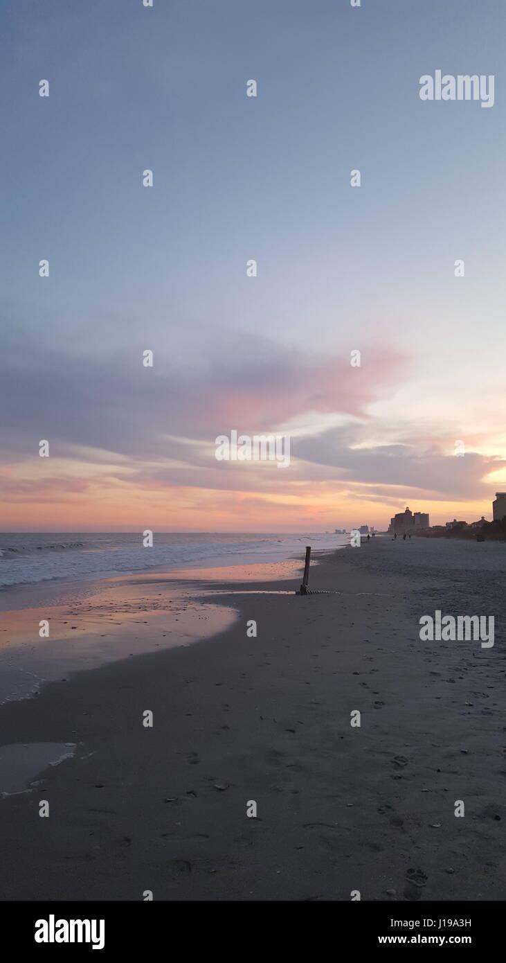 Ambiance de plage Photo Stock