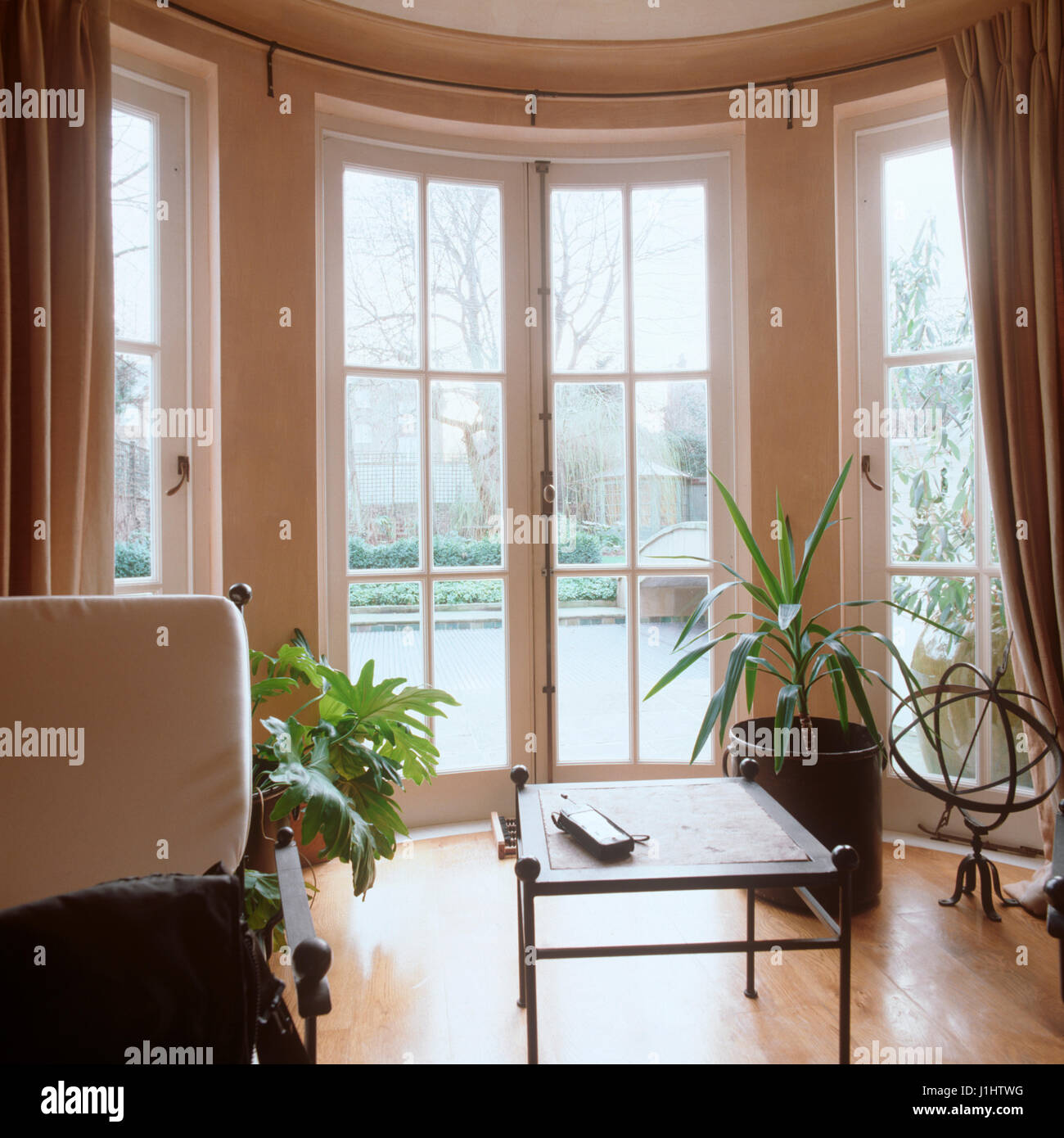 Baie Vitrée Voutée double baie vitrée photos & double baie vitrée images - alamy