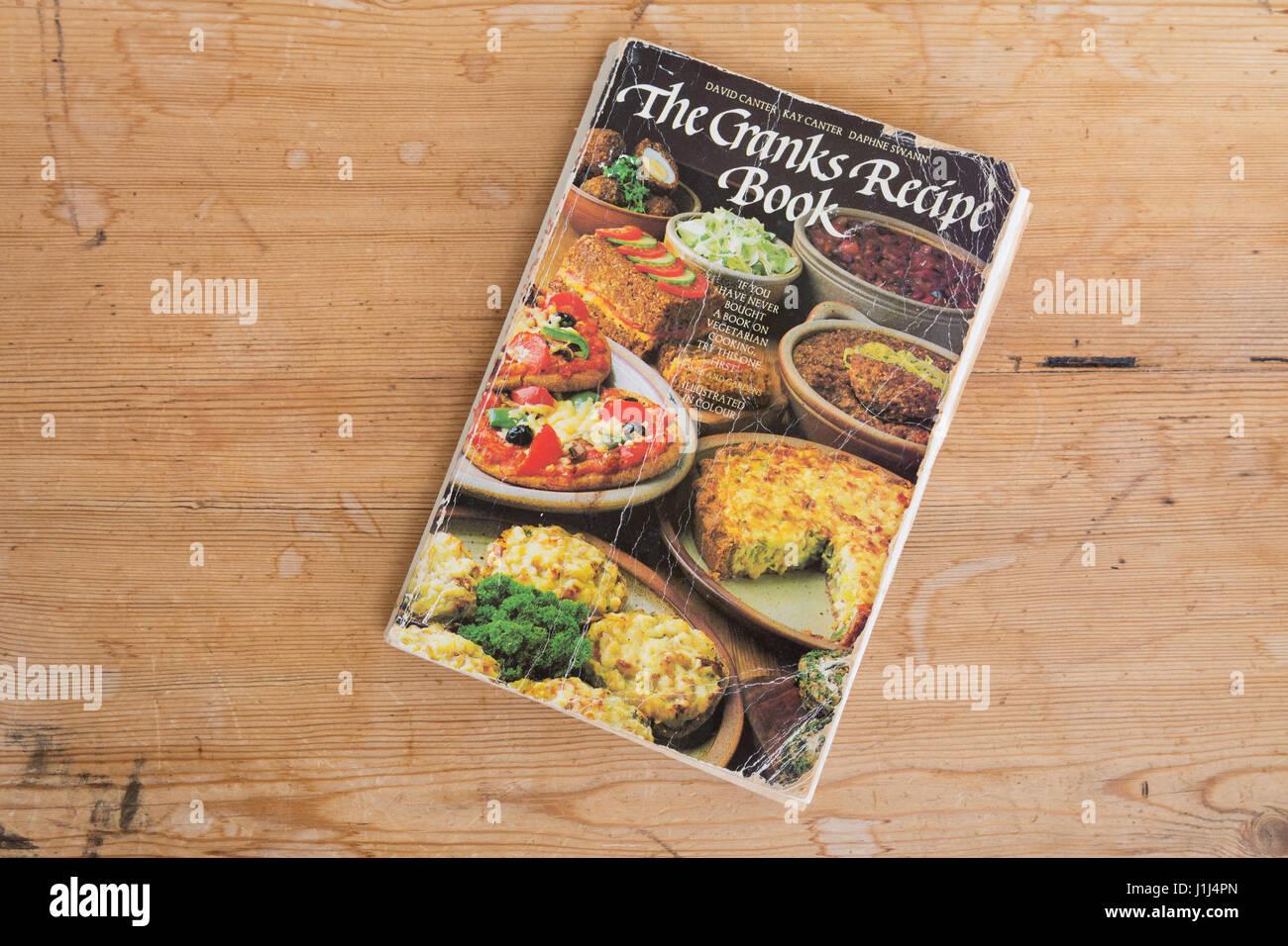 Livre de Cuisine Recette manivelles Photo Stock