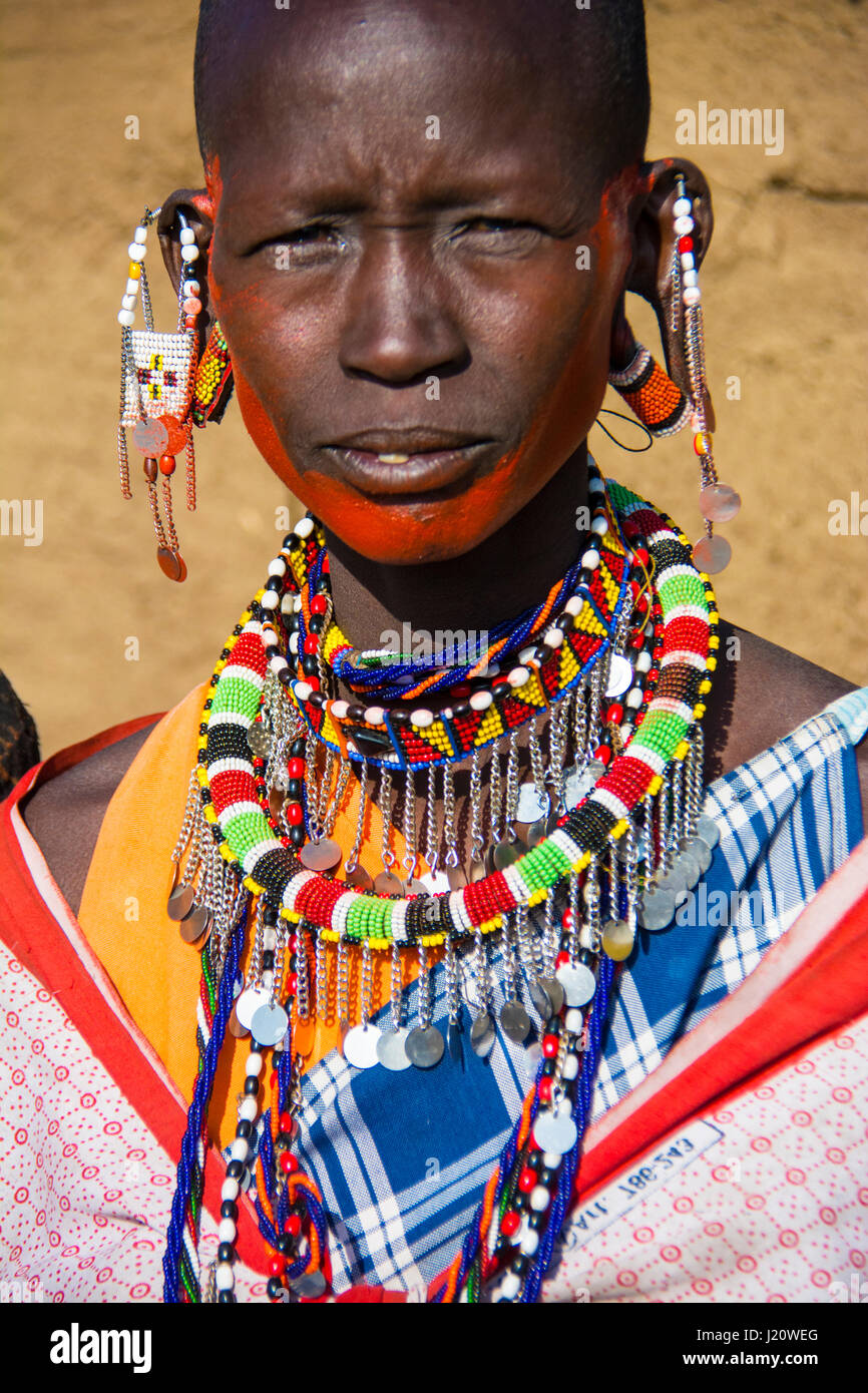 bijoux femmes masai kenya
