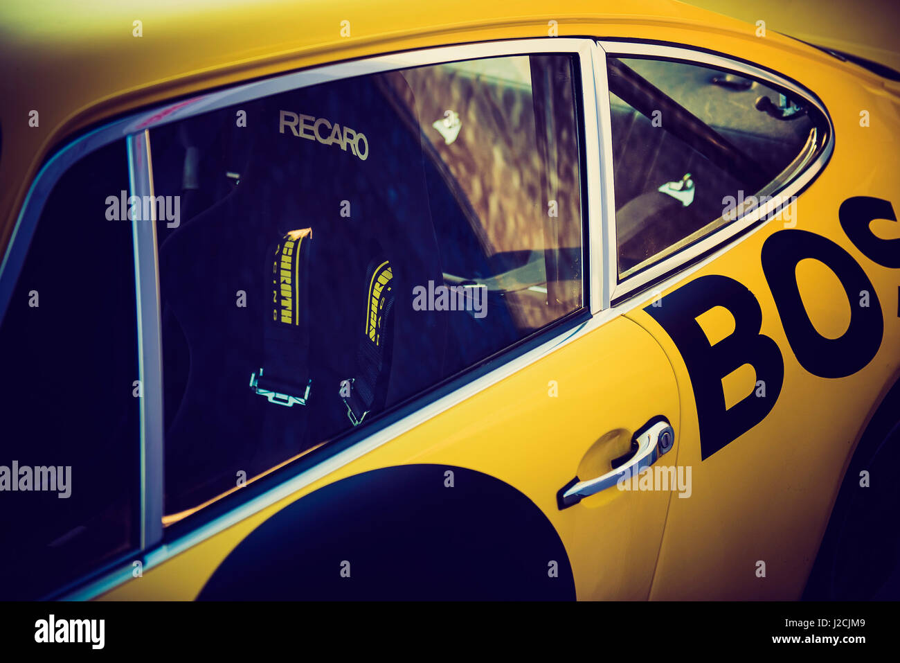 Porsche Classic 911 Classic Bosch Photo Stock