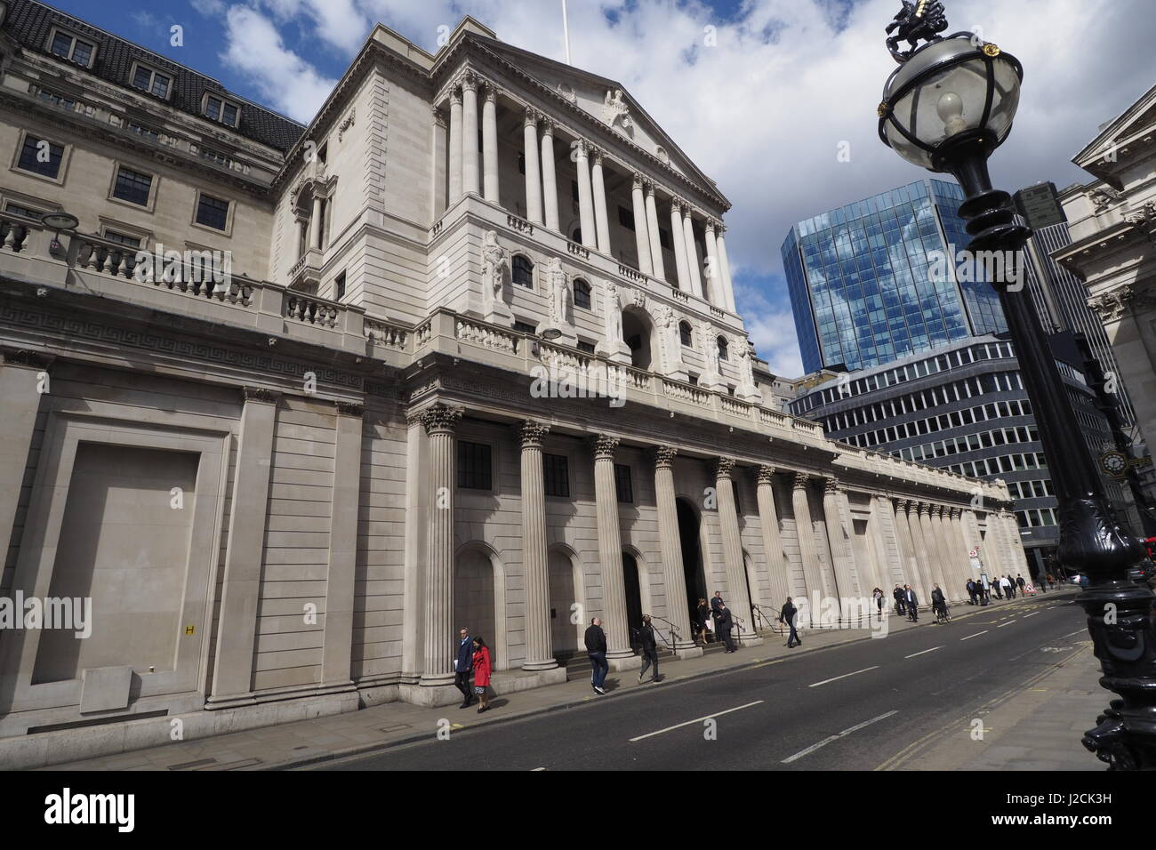 Banque d'Angleterre Photo Stock