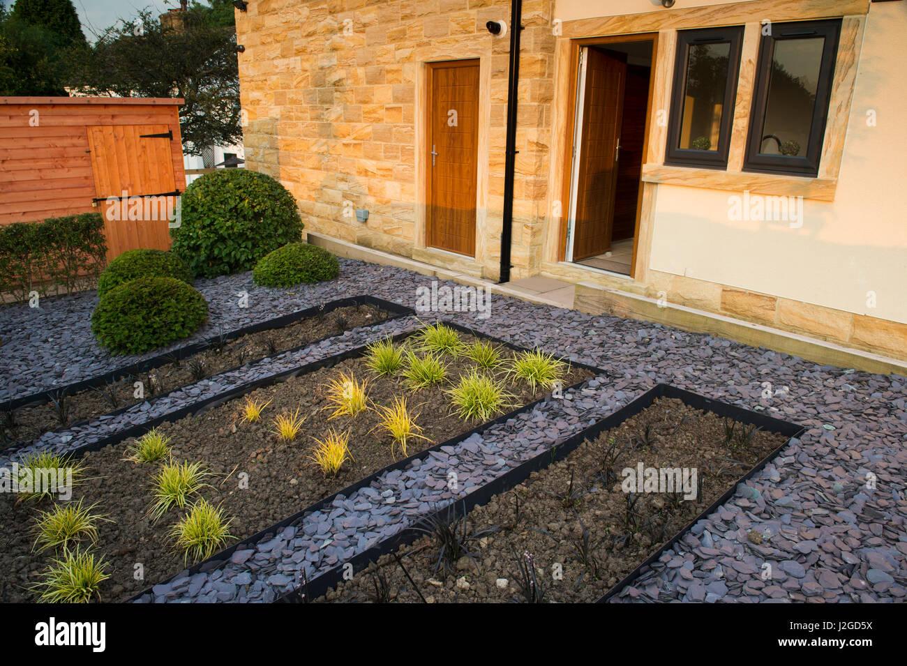 Belle, jardin privé, Aquitaine, FR, UK. Élégant et contemporain, l ...