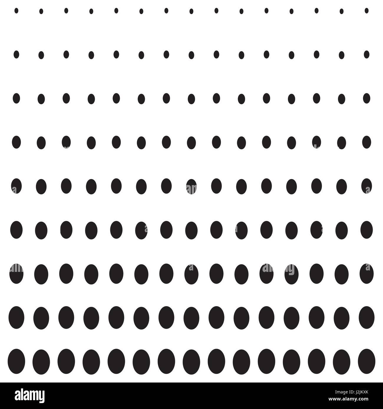 Forme d'ellipse de fond de demi-teinte Photo Stock