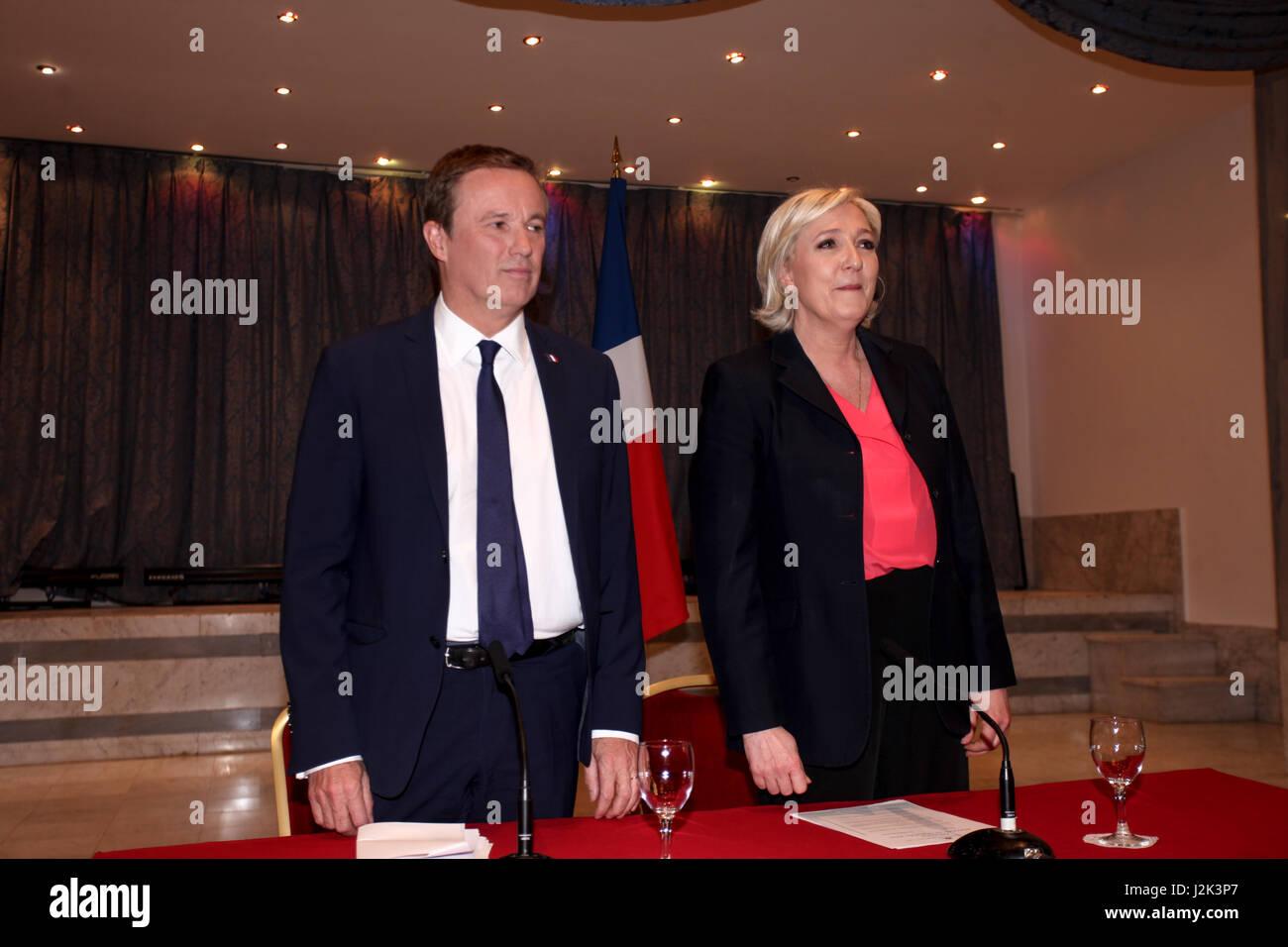 ... et Nicolas Dupont-Aignanmarine le Pen a annoncé samedi qu il allait  nommer le premier ministre souverainiste Nicolas Dupont-Aignan en cas de  victoire ... 6cf70651791