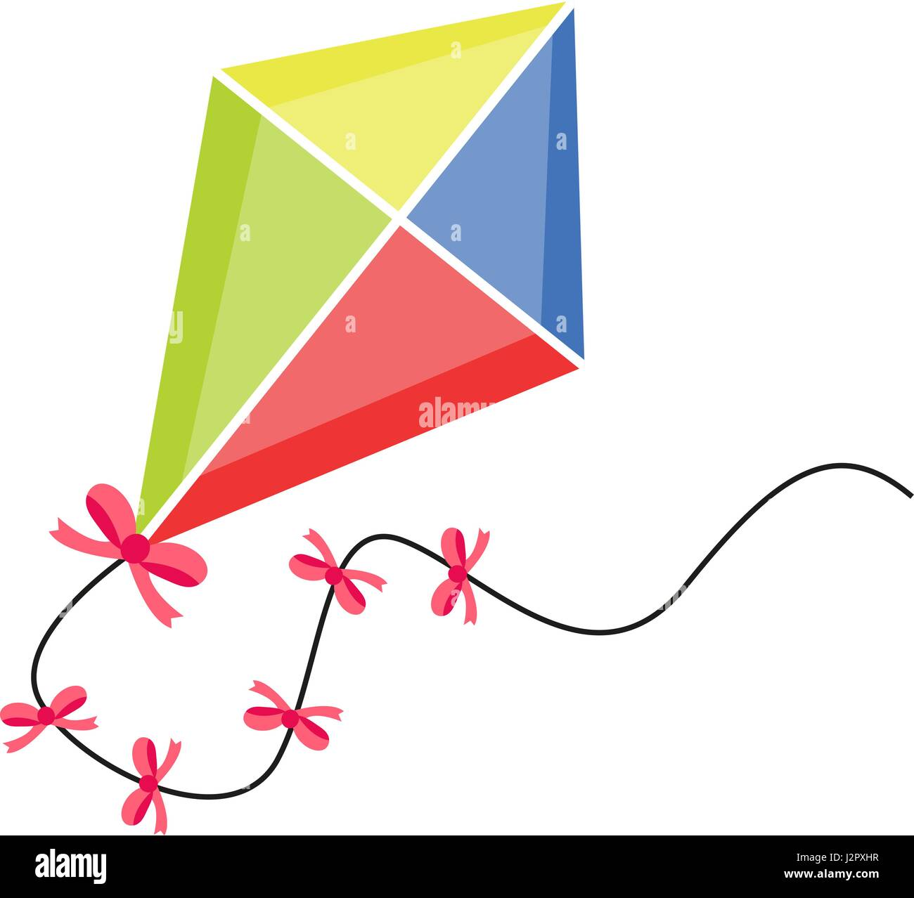 Cerf Volant Television Icone De Style Dessin Anime Isole Sur Fond Blanc Illustration Vectorielle Clip Art Image Vectorielle Stock Alamy