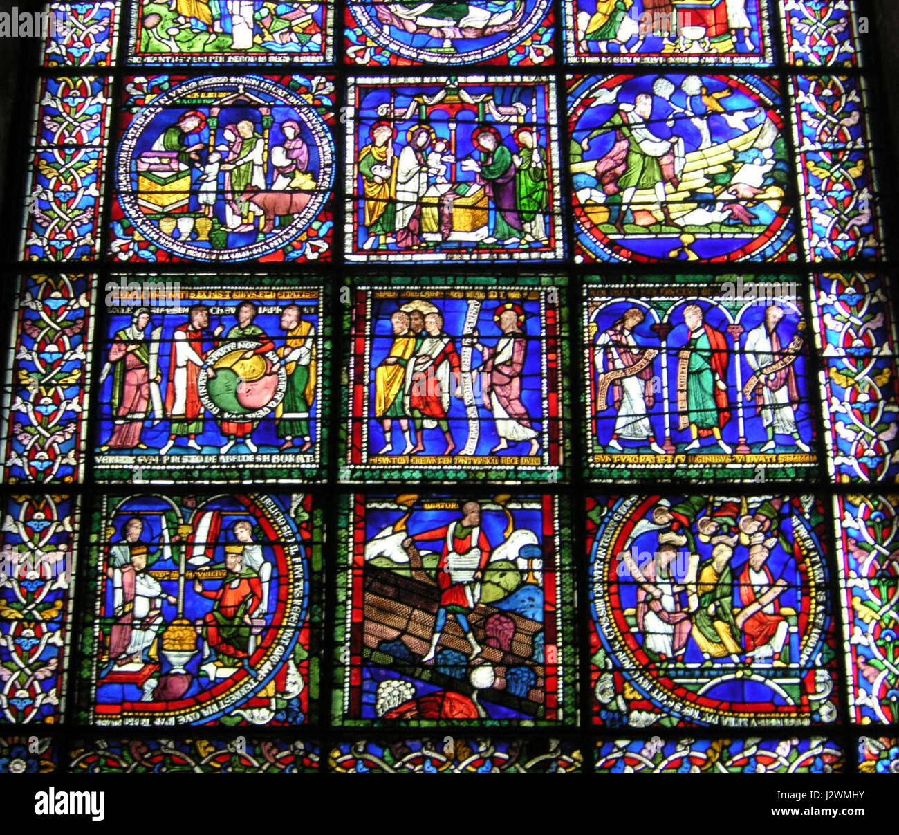 La Cathédrale De Canterbury 022 Scènes Inférieur De La Mauvaise