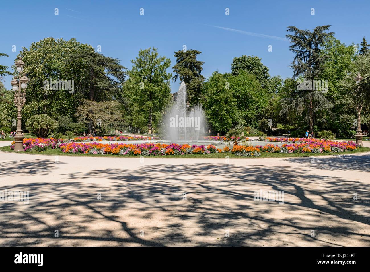 Jardin du Grand Rond, à Toulouse, Haute-Garonne, Midi ...