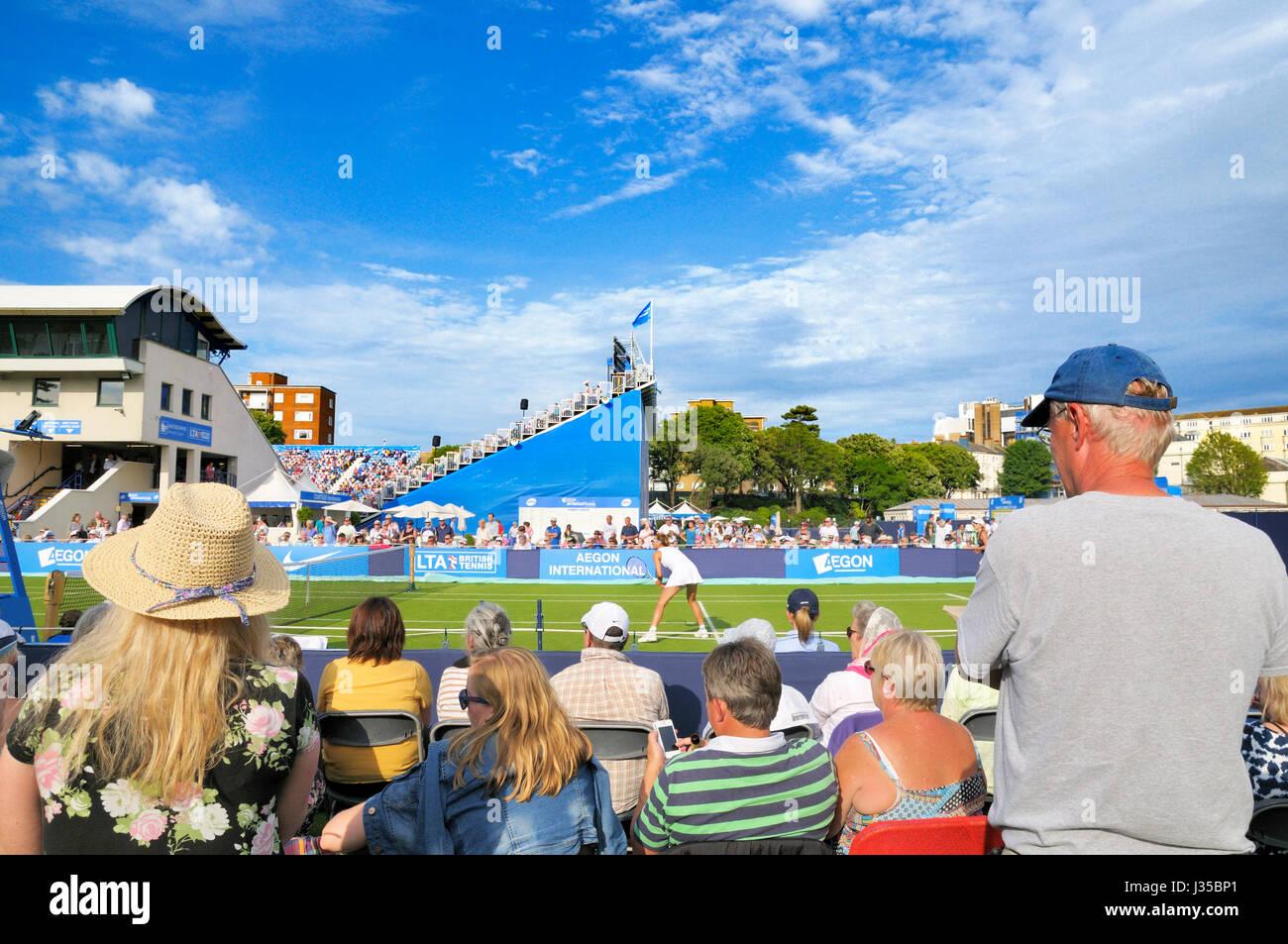Aegon International Tennis Championships, le Devonshire Park, Eastbourne, East Sussex, England, UK Banque D'Images
