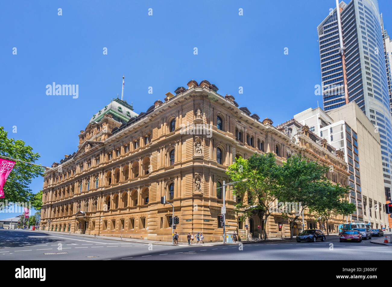 L'Australie, New South Wales, Sydney, de style architectural victorien classique, classé au patrimoine Photo Stock