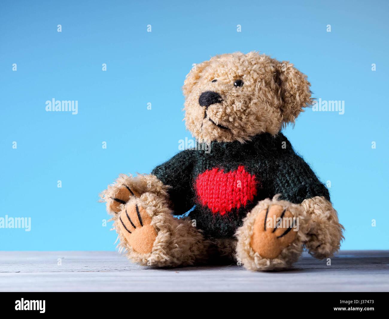 Ours en peluche jouet Photo Stock