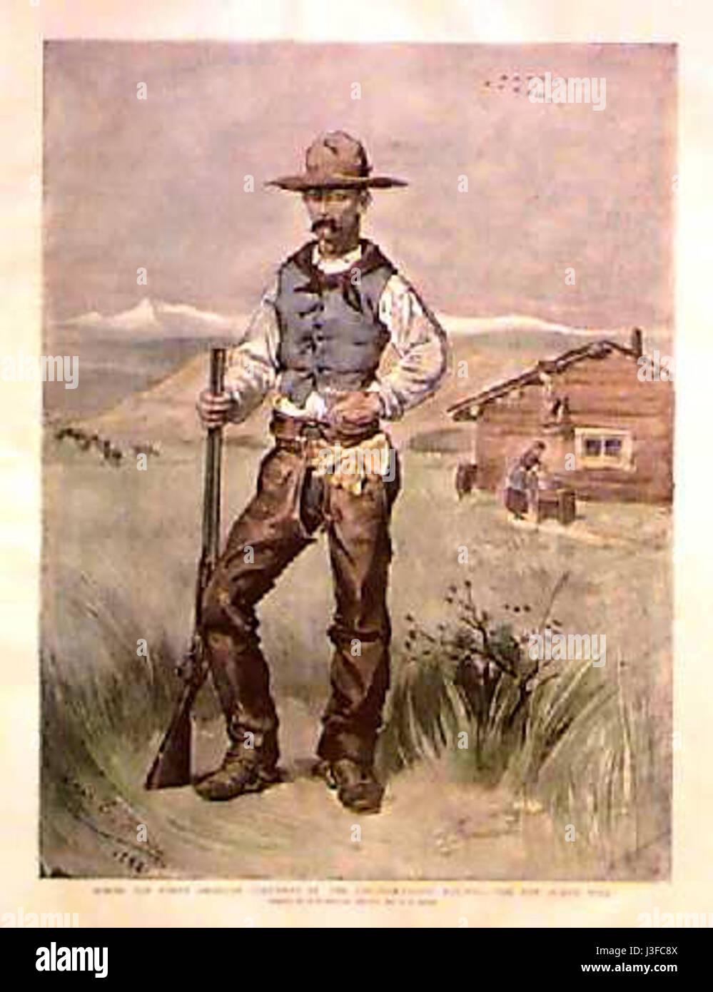 Fripp cowboy Photo Stock