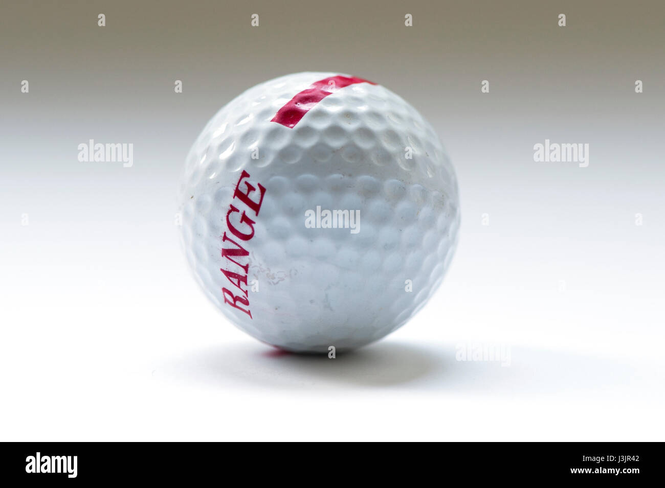 une balle de golf Photo Stock