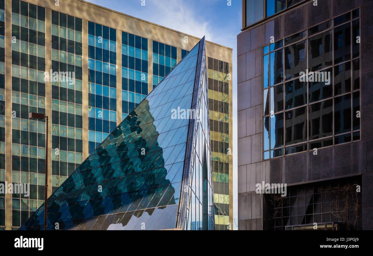 Dallas est la neuvième ville la plus peuplée des États-Unis d'Amérique et la troisième Photo Stock