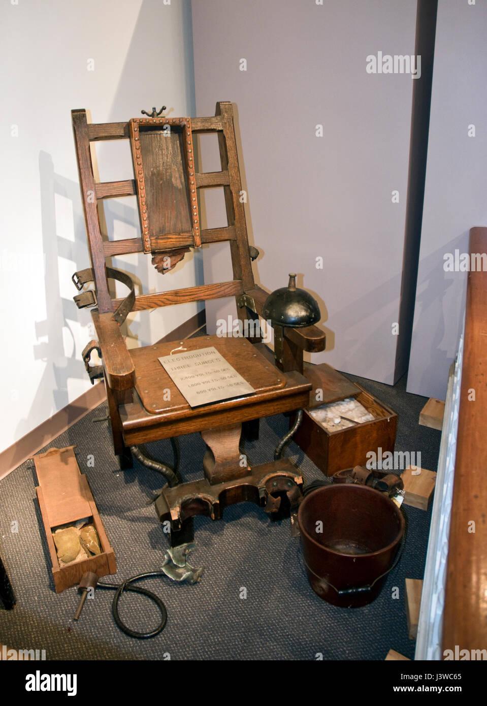 Chaise lectrique de la prison du new jersey appel 39 old - Execution chaise electrique video ...