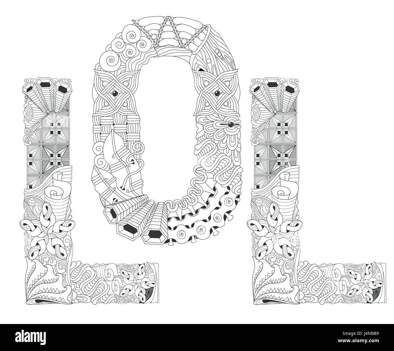 la conception de l 39 art peint la main anti stress adultes page colorier dessin la main. Black Bedroom Furniture Sets. Home Design Ideas