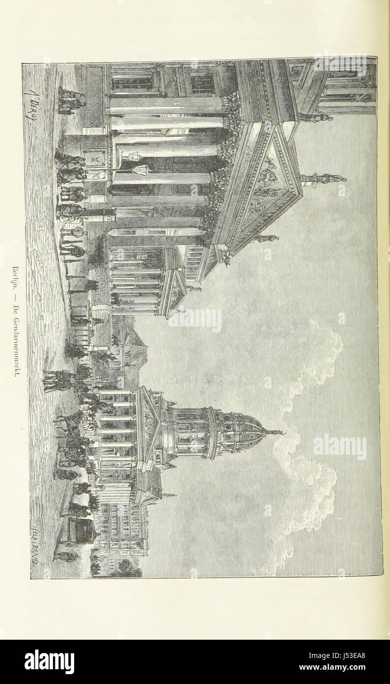 """Image prise à partir de la page 114 de """"Geïllustreerde Aardrijksbeschrijving» Banque D'Images"""